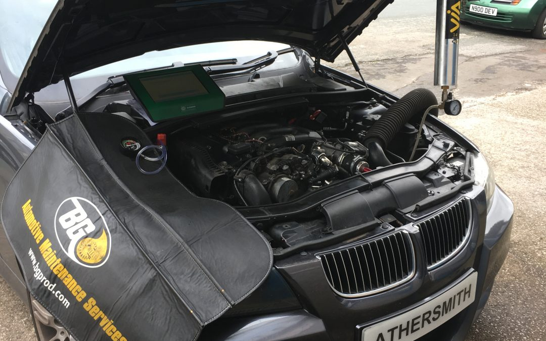 DPF Diagnostics at Athersmith's