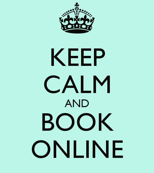 Online Booking couldn't be easier
